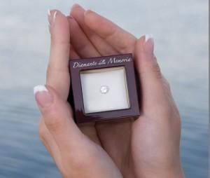 Ceneri trasformate in diamanti