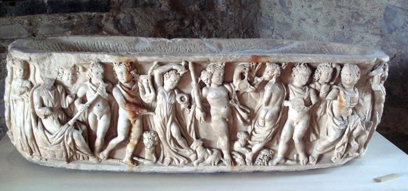 cosa è la morte. Sarcofago-romano_by_Giovanni-Dall-Orto_commons.wikimedia.org_800x375