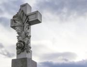 Tod Trauer Glaube - Steinkreuz