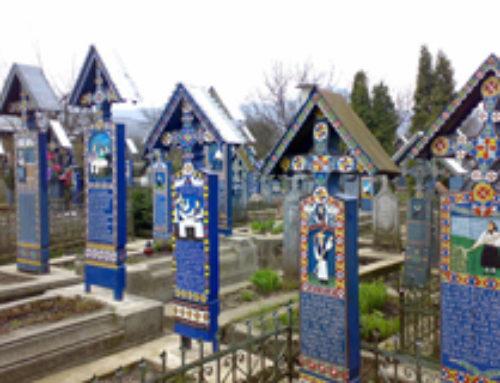 Sapanta il cimitero allegro o il cimitero che ride in Romania