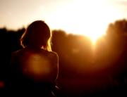 donna_tramonto