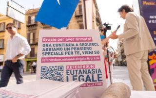 Referendum Eutanasia. Termina la campagna di raccolta firme