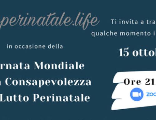 Evento online per la giornata del lutto perinatale